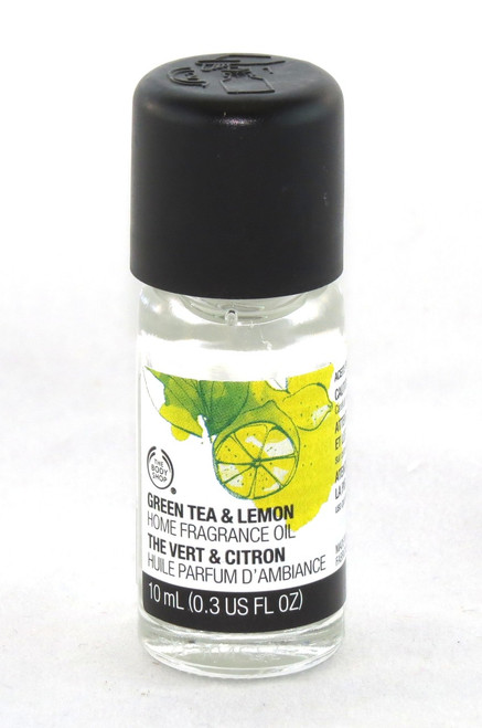 Click here to buy Green Tea Lemon Home Fragrance Oil Body Shop