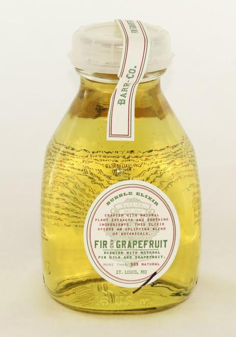 Shop now for Fir and Grapefruit Bubble Bath Barr-Co. Glass Bottle