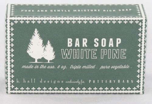 Shop here now for White Pine All Natural Bar Soap from K. Hall Design