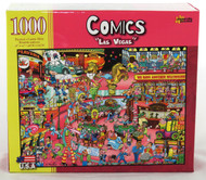 Click here to buy Comics Las Vegas 1000 piece Jigsaw Puzzle from Archway Variety