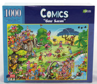 Click here to buy Comics Golf Tours 1000 piece Jigsaw Puzzle from Archway Variety