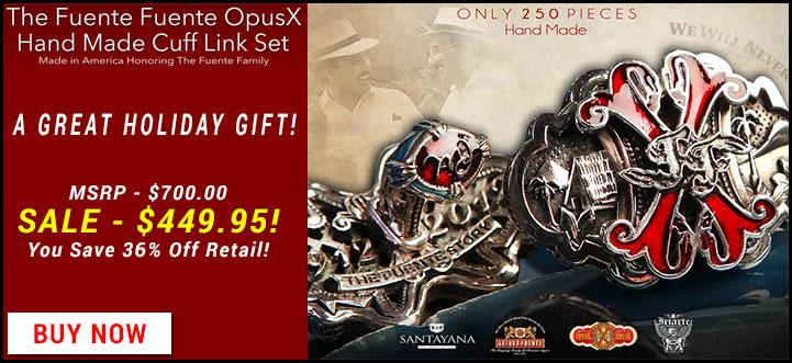 Opus X Commemorative Cufflinks