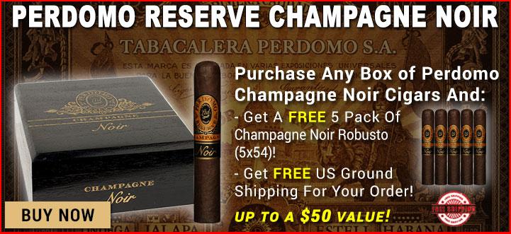 Buy Perdomo Champagne Noir Cigars