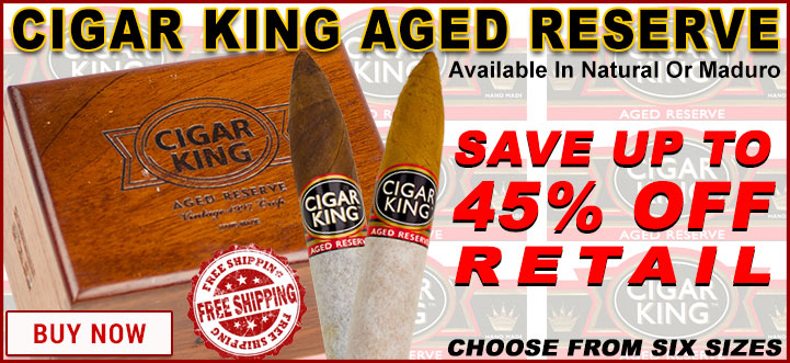 Cigar King Aged Reserve