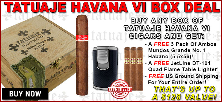 Tauaje Havana VI Box Deal