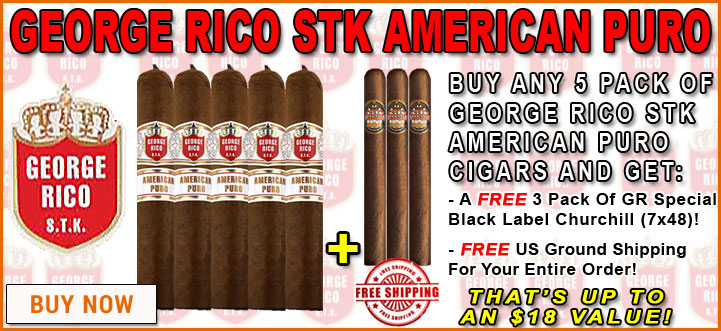 George Rico STK American Puro 5 Pack OFfer