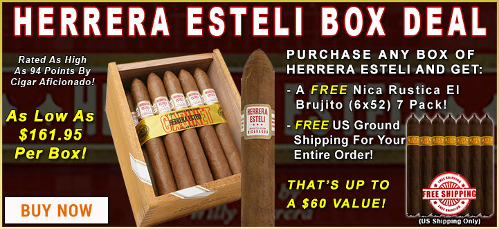 Herrera Esteli Box Offer
