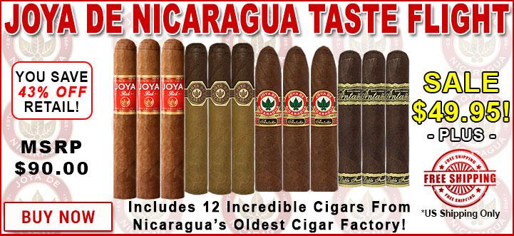 Joya de Nicaragua Taste Flight