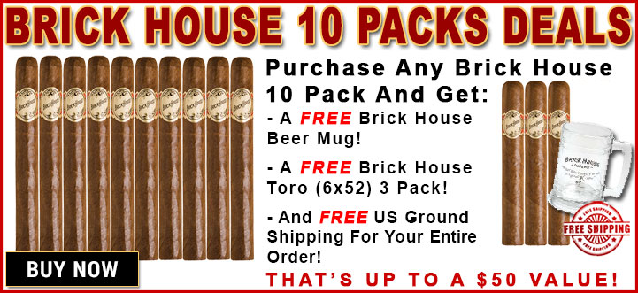 Brick House 10 Packs
