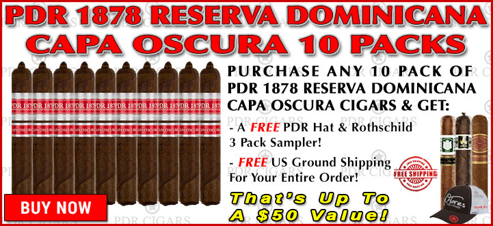 PDR 1878 Reserva Dominicana Capa Oscura