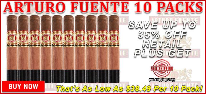 Arturo Fuente 10 Packs