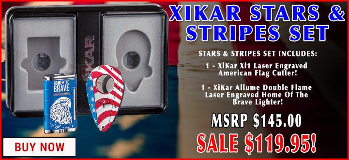XiKar Stars & Striped Gift Set