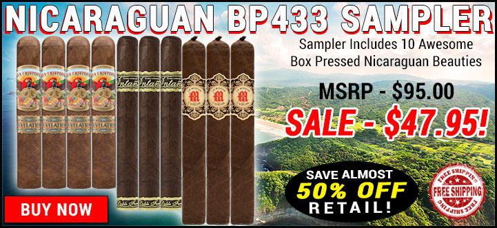 Nicaraguan BP433 Sampler