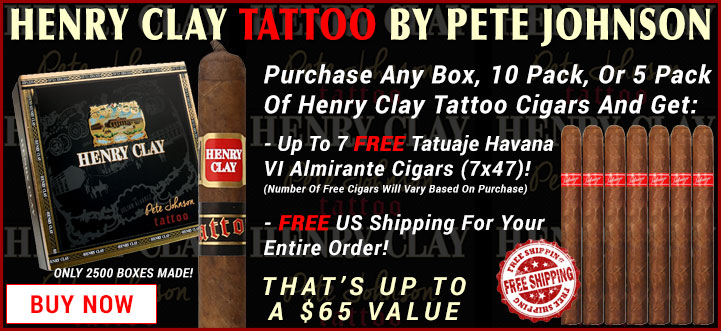 Henry Clay Tattoo by Pete Johnson