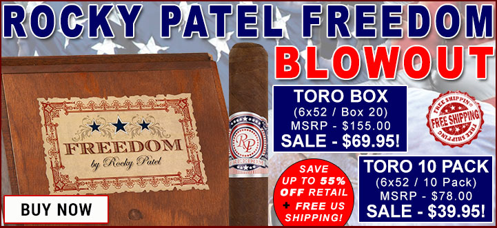 Rocky Patel Freedom Blowout