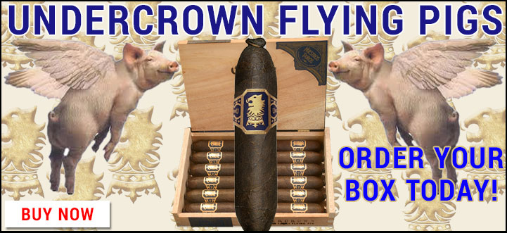 Undercrown Flying Pigs In Stock
