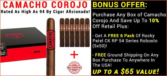Camacho Corojo Cigars