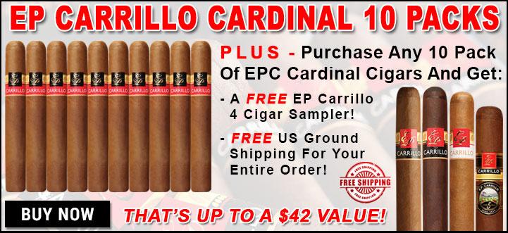 EP Carrillo Cardinal 10 Pack Bonus Offer