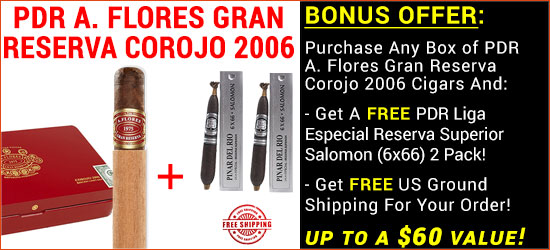 CLICK HERE TO ORDER PDR A. FLORES GRAN RESERVA COROJO 2006