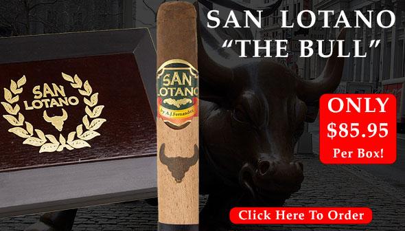 San Lotano The Bull By AJ Fernandez