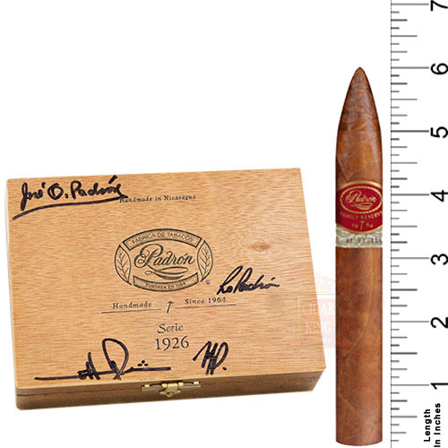 Padron Family Reserve No. 44 Natural (6x52 / Box 10)