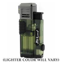 JetLine Gotham Triple-Flame Lighter (Color will vary)