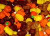 Fall Festival Mix Autumn/Halloween 1LB by Zachary Confections Inc. Mellocreme