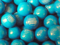 "Blueberry Smoothy  Double Bubble Gum Balls 1""  1 lb"