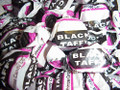Black Taffy  8 lbs Wrapped Soft &amp; Fresh! &quot;Black Jacks&quot;