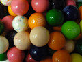 "10 Flavor Mix  Double Bubble Gum Balls 1""  1 lb"