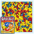 Rascals Fruit Shaped Flavored Coated Candy  1 Lb