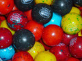 "Berry Blast Double Bubble Gum Balls 1""  1 lb"