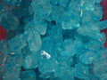 Blue Raspberry Rock Candy String  5 Lbs