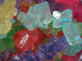 Asorted Flavor Rock Candy Old Fashion String  1 Lb