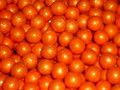 Sixlets Orange Pearl Choc 1 Lb