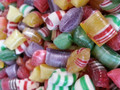 Christmas Rainbow Gems Hard Candy  1 Lb