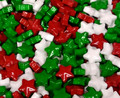 Christmas Starzmania Candy Coated Stars   1 Lb