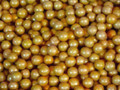 Sixlets Metallic Gold Chocolate 1Lb