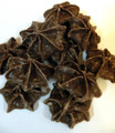 Chocolate Stars by Blommer  1Lb   Piped milk chocolate in the shape of stars!