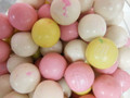 "Dubble Bubble Birthday Cake Bubble Gum Bumballs 1"" 1 LB"