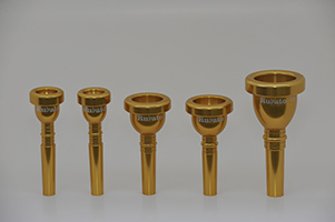 Rubato Gold Mouthpieces 3C 7C 12C 6 1/2AL 18 www.rubatomouthpieces.com