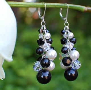 Allure Statement Cluster Earrings