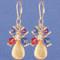 Fruit Punch Cluster Earrings