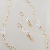 Polygon Chain Earrings