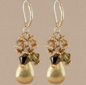 Sahara Cluster Earrings