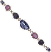 Swarovski Purples Calypso Bracelet