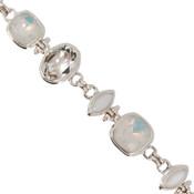 Swarovski White Opal & White Alabaster Crystal Bracelet