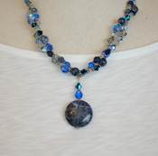 Sodalite Double Necklace
