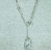 Deco Necklace in Crystal (Clear)