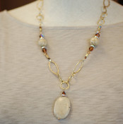 Jasper Chain Necklace